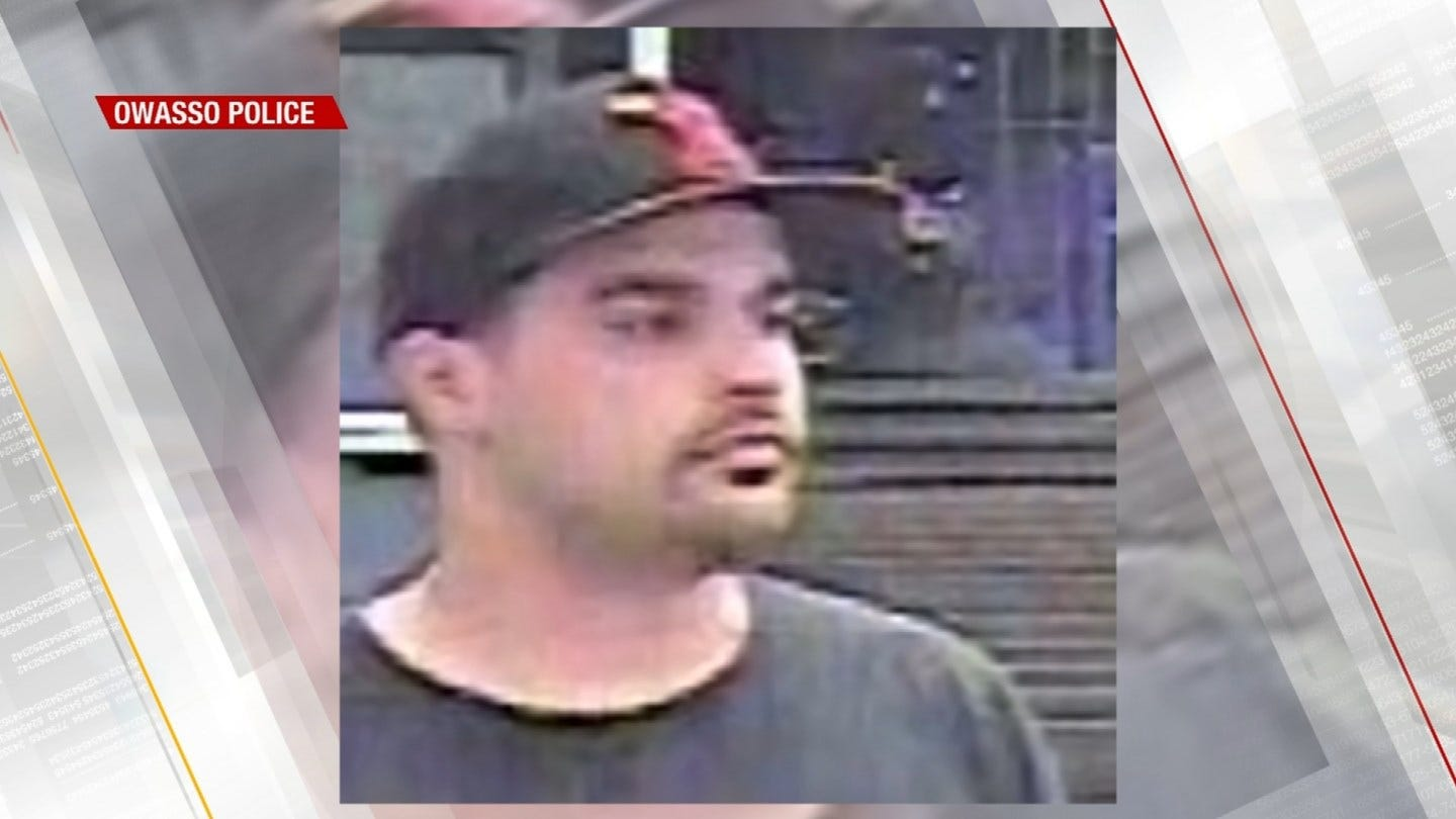 Owasso Police Looking For Suspected Shoplifter