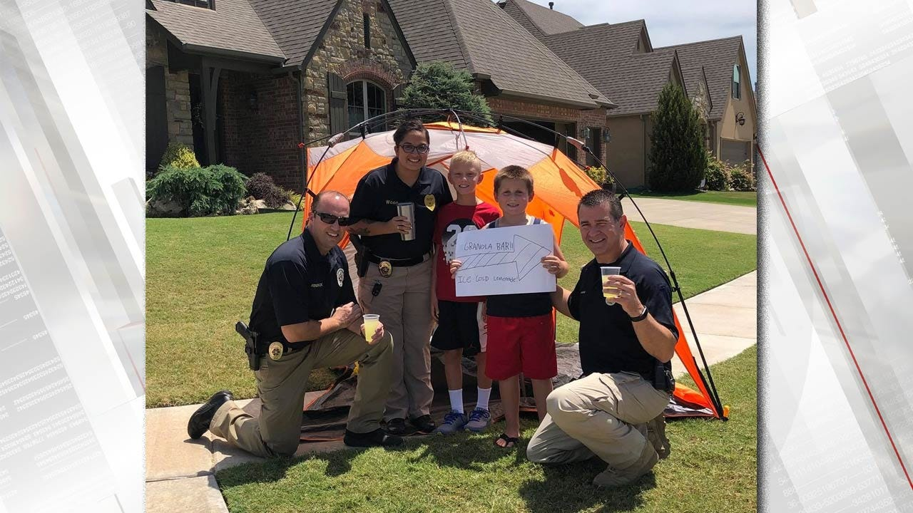 Bixby Police Conduct Lemonade Stand Tasting Inspections