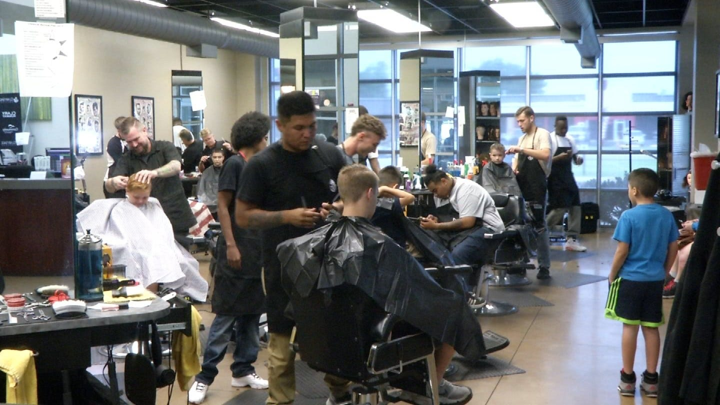 Clary Sage Offering Free Back-To-School Haircuts