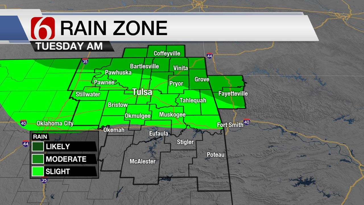 Heat Continues With Chance For Storms Across Oklahoma