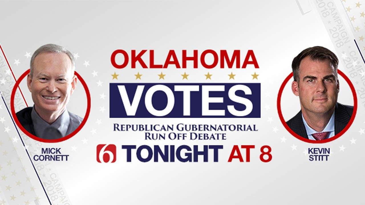 News On 6, News 9 To Host Live GOP Gubernatorial Debate Tonight