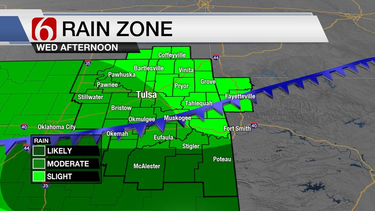 More Rain, Stormy Weather Wednesday, But Not As Hot
