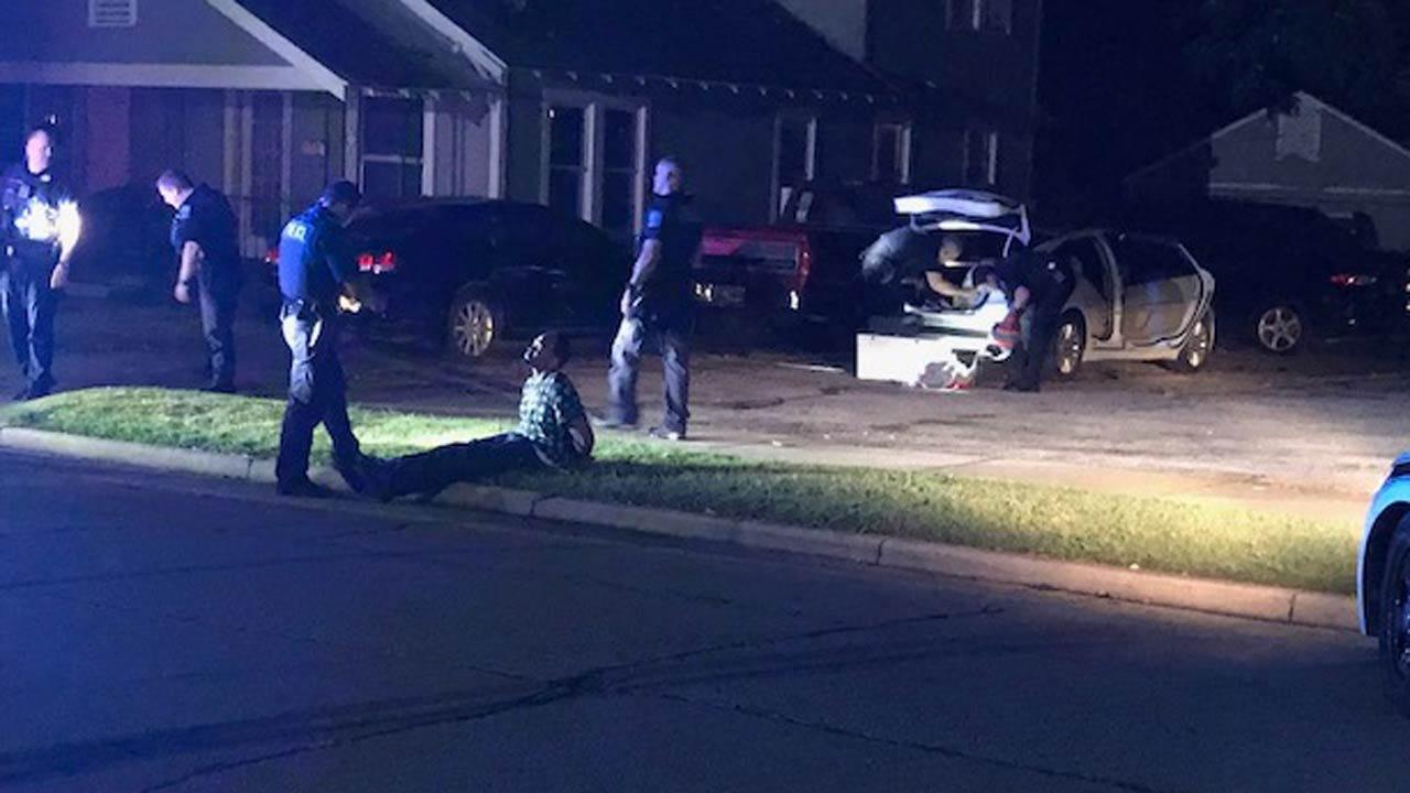 Three In Custody After Tulsa Police Stop Suspected Stolen Car