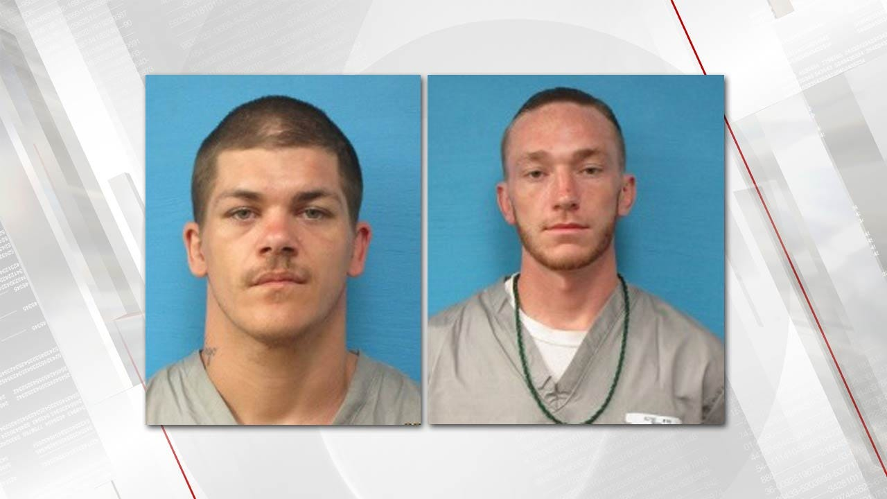2 Inmates Who Escaped From State Prison In LeFlore County Recaptured
