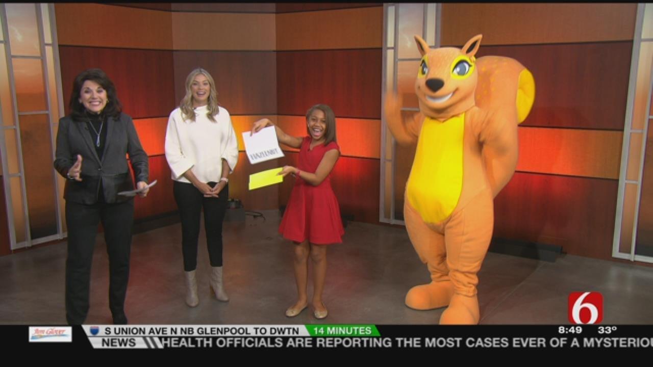 'Hazelnut' Is Gathering Place's Newest Mascot
