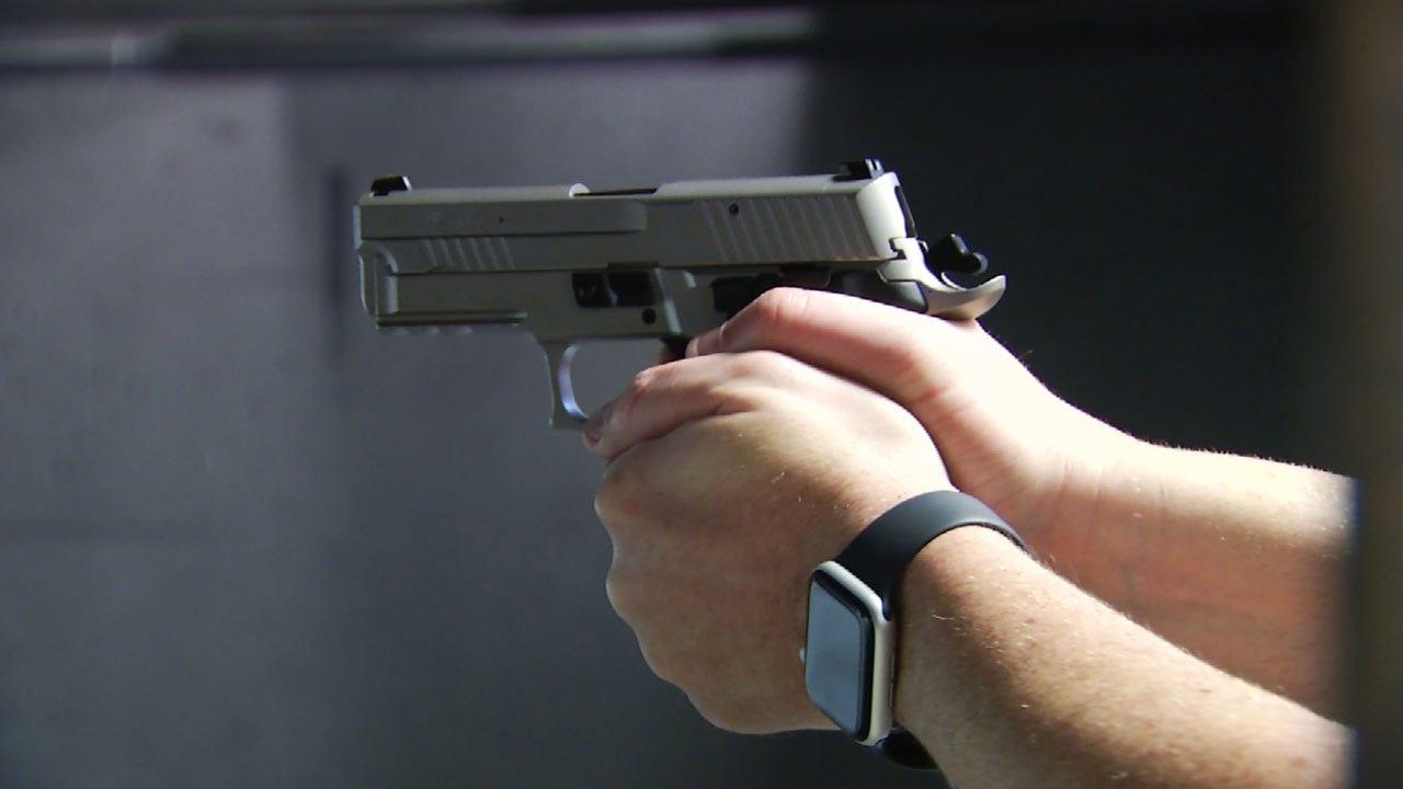 Gun Background Checks Nearing Record High