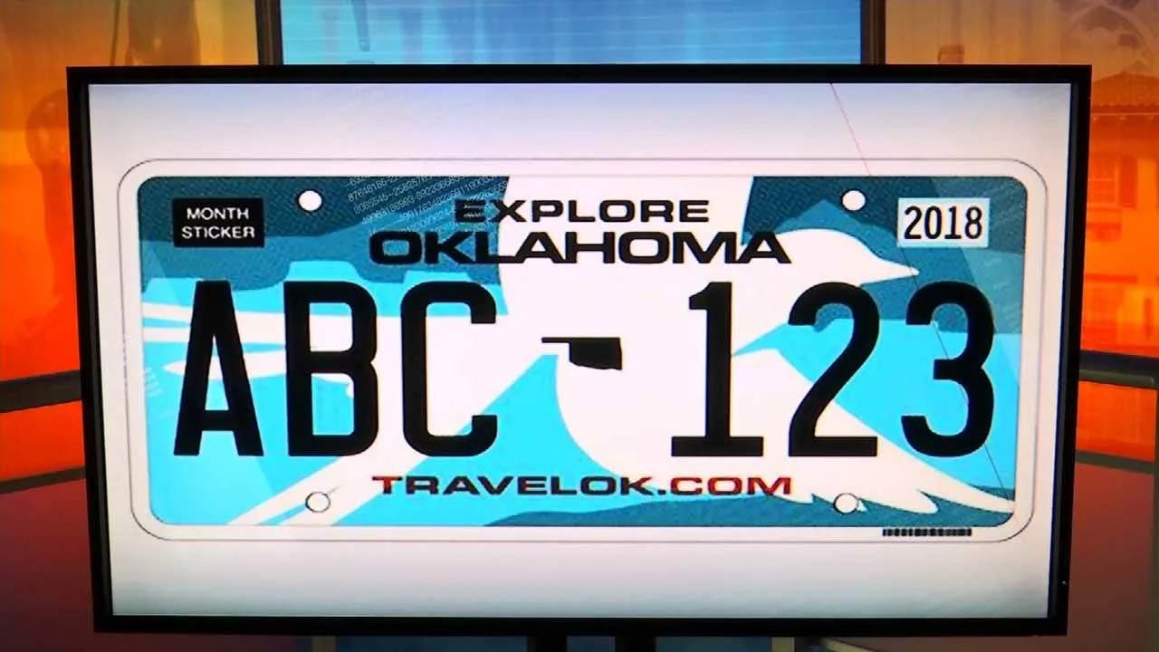 Changes To Oklahoma's License Plate Law Take Effect Soon