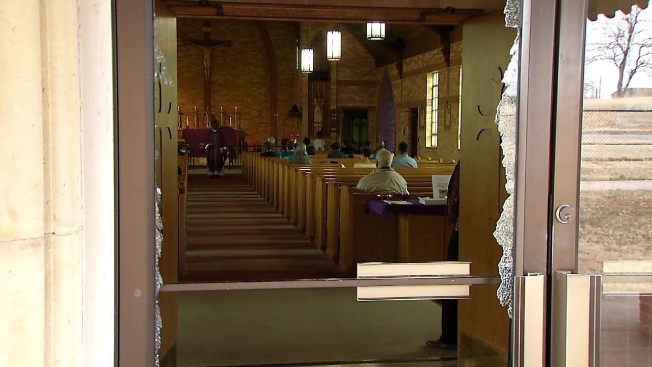 Virgin Mary Statue Broken In Tulsa Church Break-In