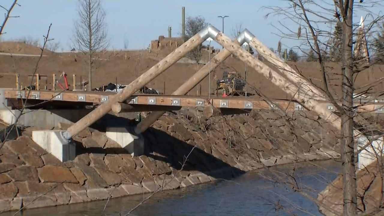 $10M Kings Post Bridge Donated To Tulsa's Gathering Place