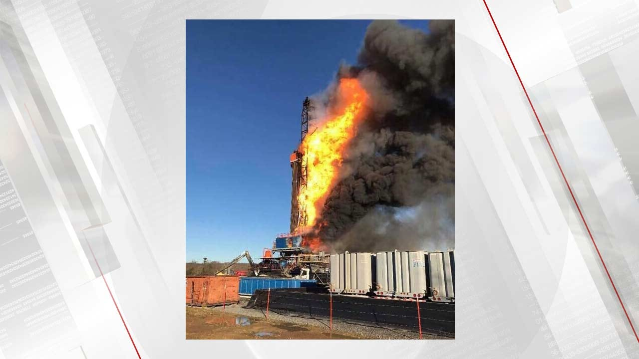 Five Missing In Pittsburg County Drilling Rig Explosion