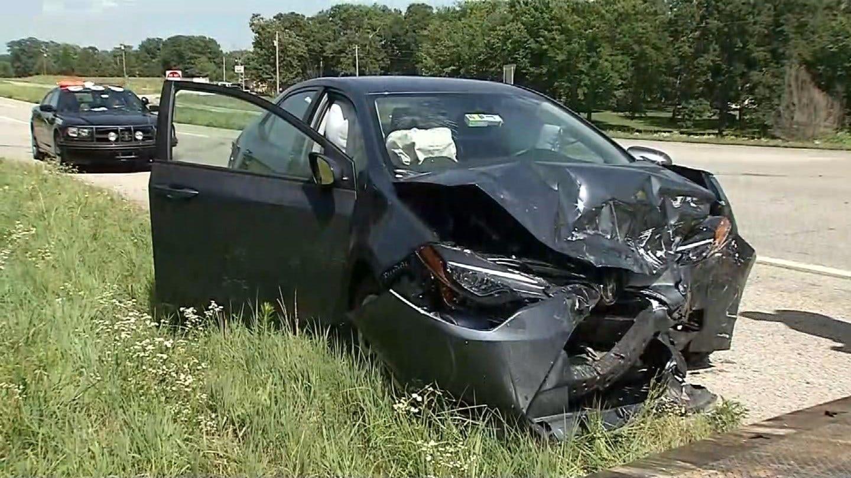 Crash Injures 3 Near Chelsea