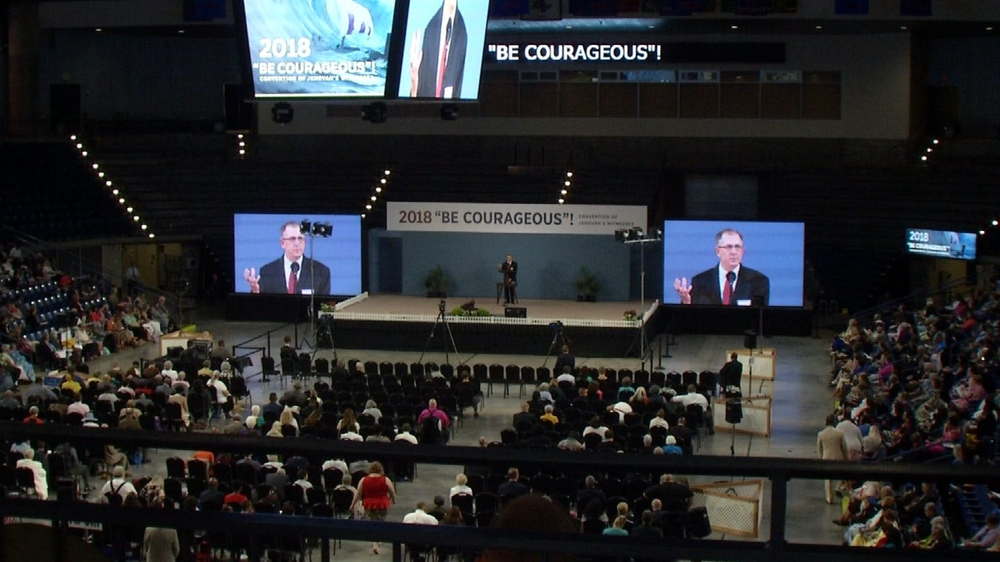 Thousands Come To Tulsa For Jehovah's Witness Convention