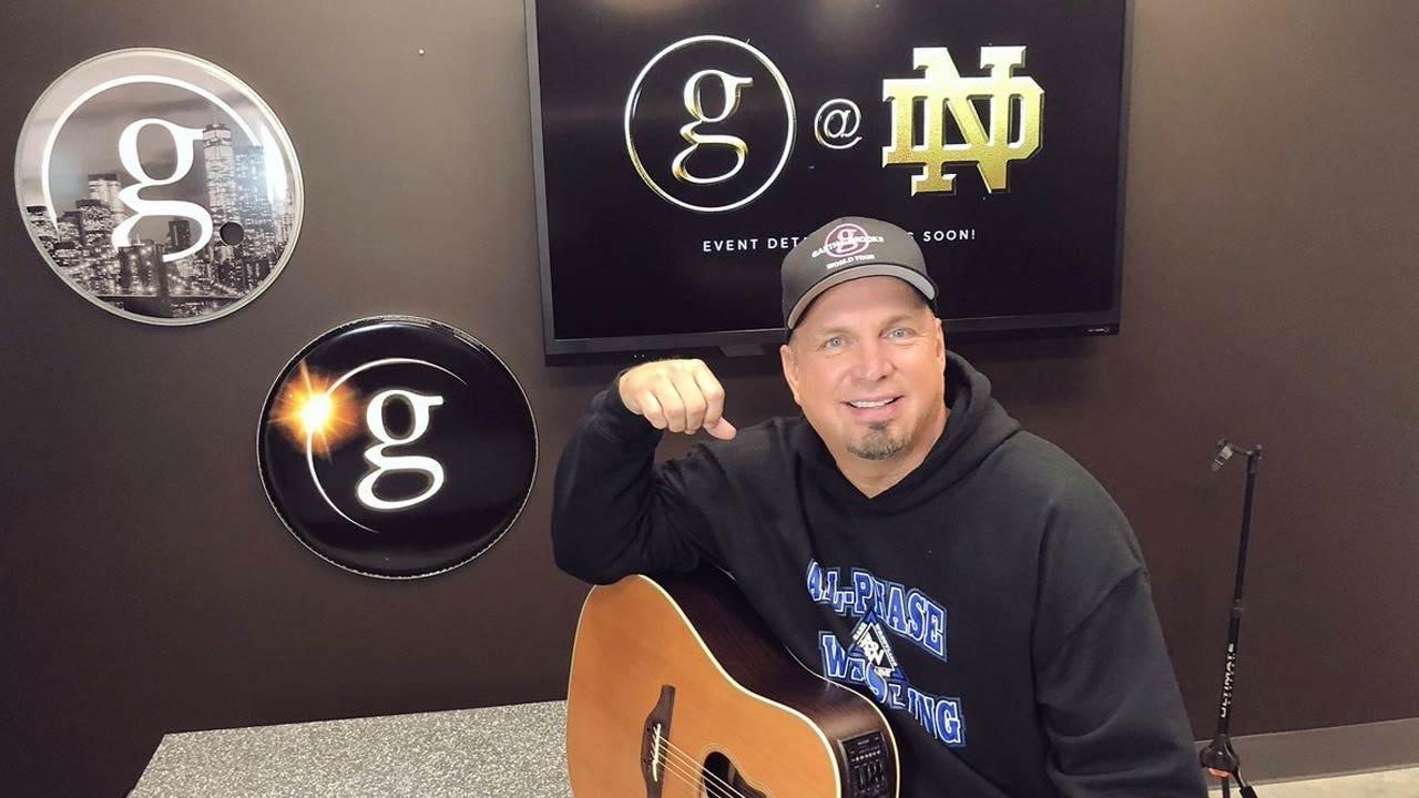 Garth Brooks To Perform At Notre Dame Stadium