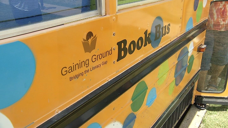 Book Bus Helping Tulsa Kids Avoid Falling Behind During Summer Break