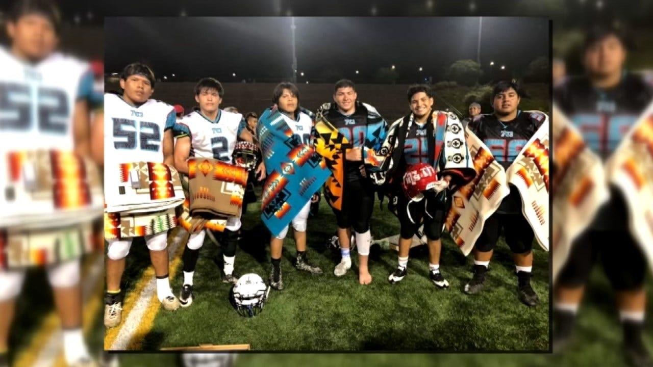 Sapulpa's Keland Bearpaw Selected For Annual Indigenous Bowl