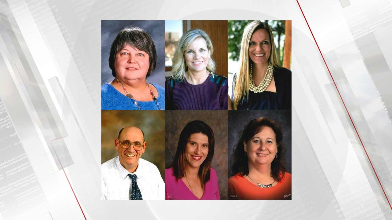 6 Eastern Oklahoma Educators Among 12 Teacher Of The Year Finalists