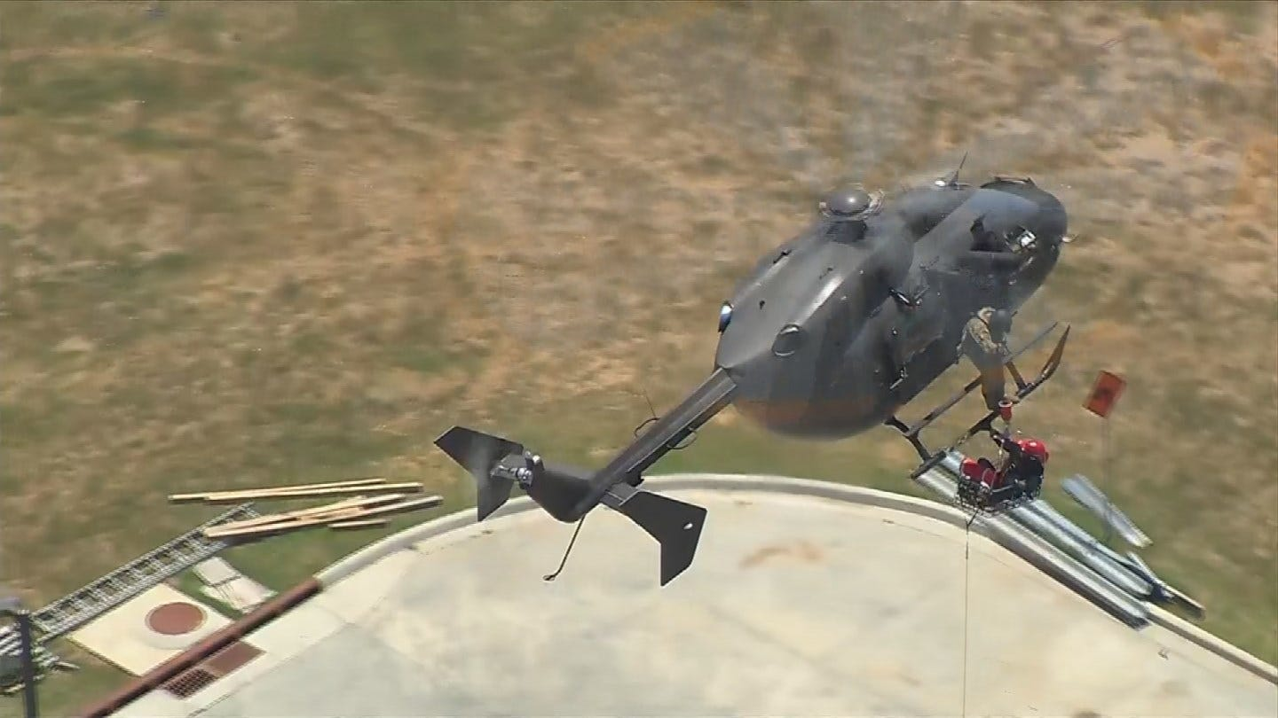 Oklahoma Firefighters Train For Urban Search And Rescue