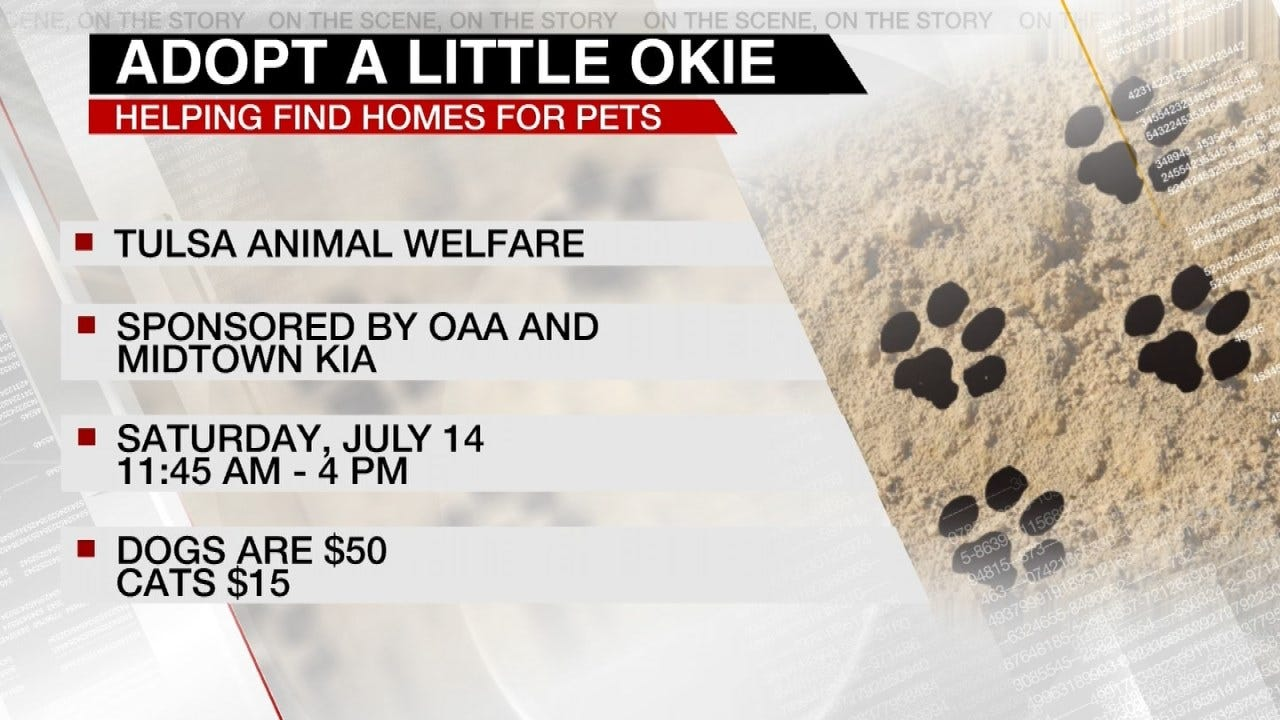 Tulsa's 'Adopt A Little Okie' Is Saturday, July 14th