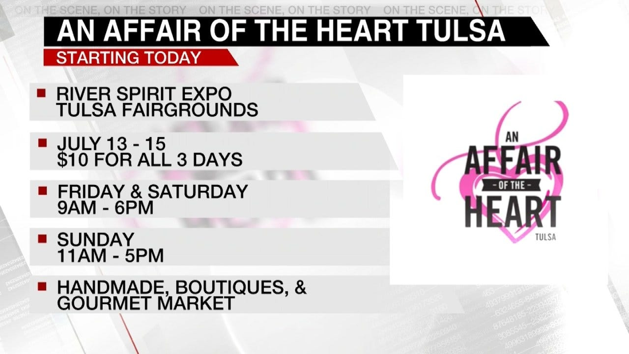 Affair Of The Heart Kicks Off At Tulsa's River Spirit Expo