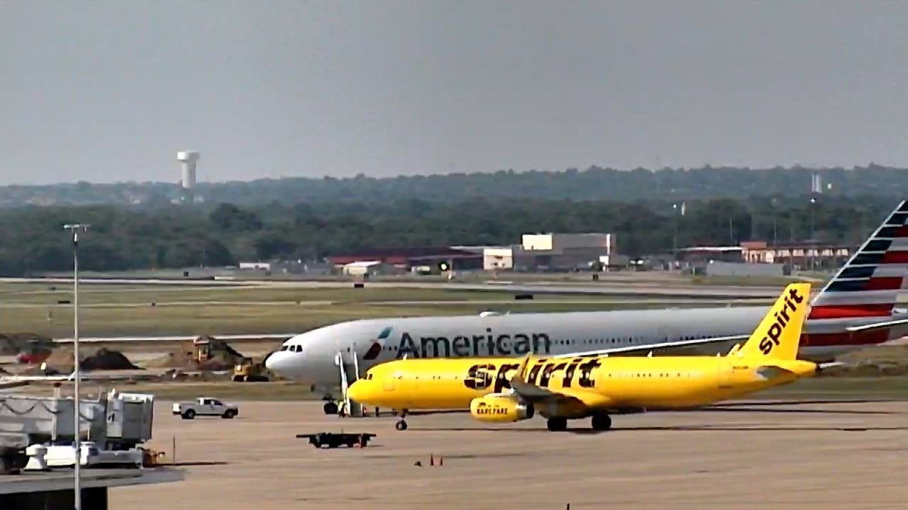 Dallas Bound Flight Diverted To Tulsa, Passengers Bussed Home