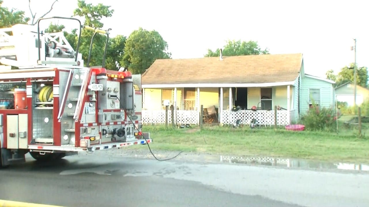 Jenks Home Damaged In Friday Morning Fire