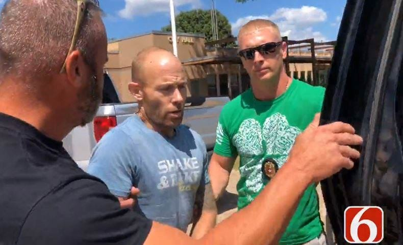 Mannford Chase Suspect In Custody