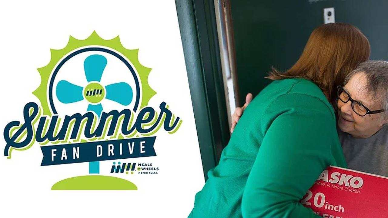 Meals On Wheels Of Metro Tulsa Holding Fan Drive