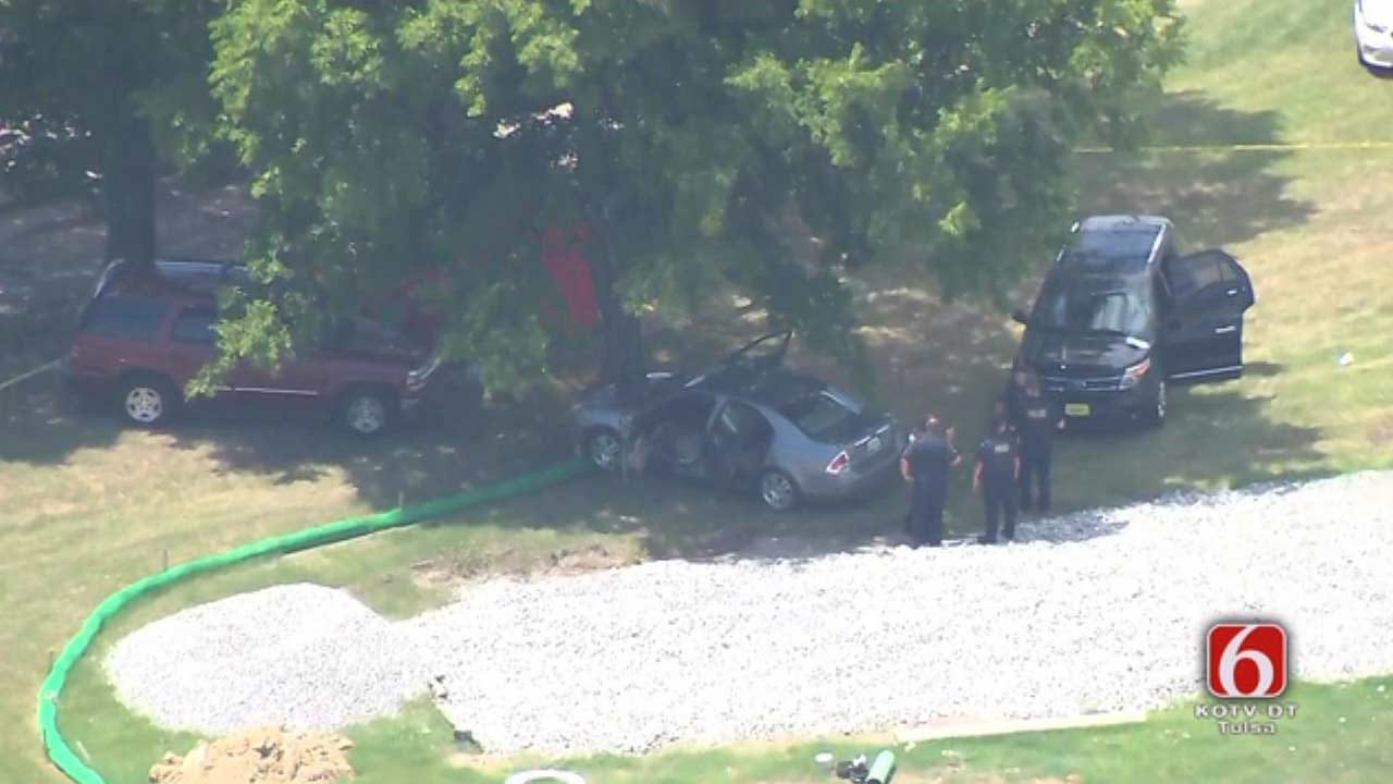 Woman Shot While Returning Car To Ex-Boyfriend, Tulsa Police Say
