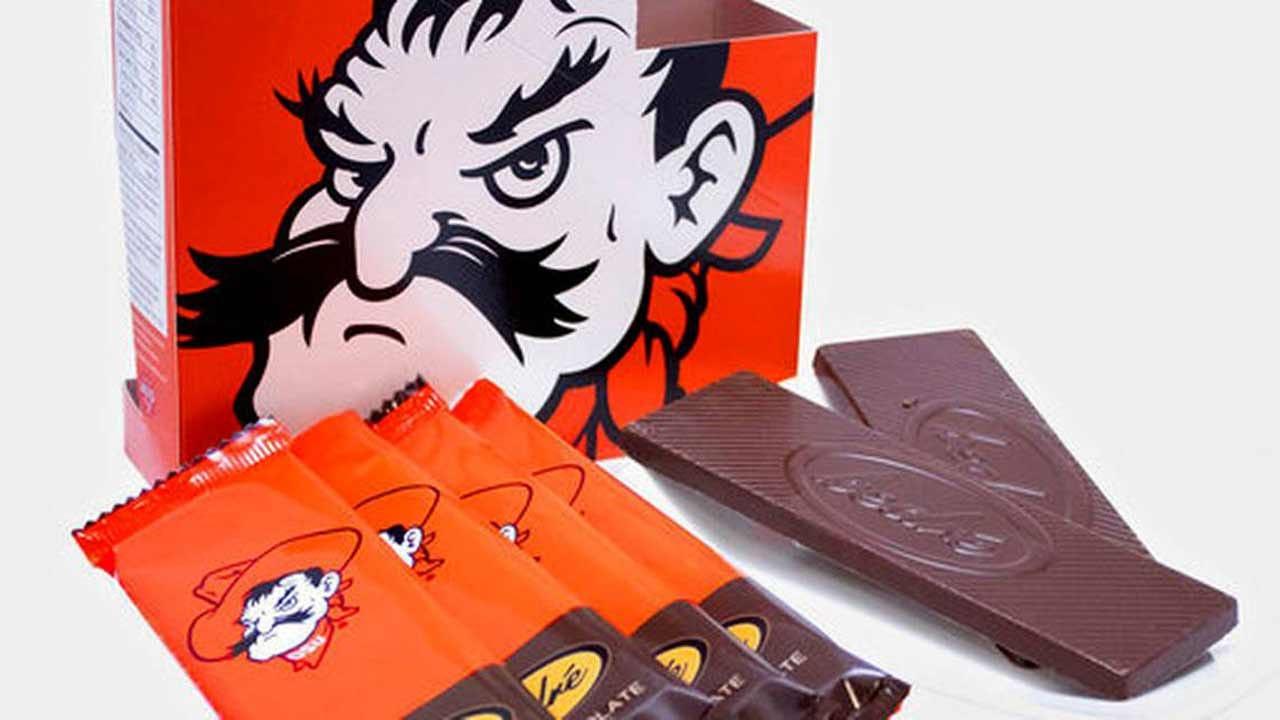 Chickasaw Nation Company Makes Oklahoma State Chocolate Bars