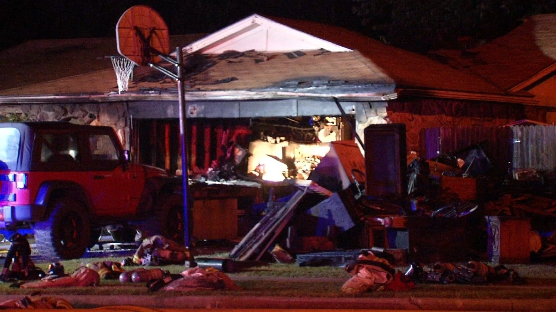 Saturday Night Fire Destroys Owasso Family's Home