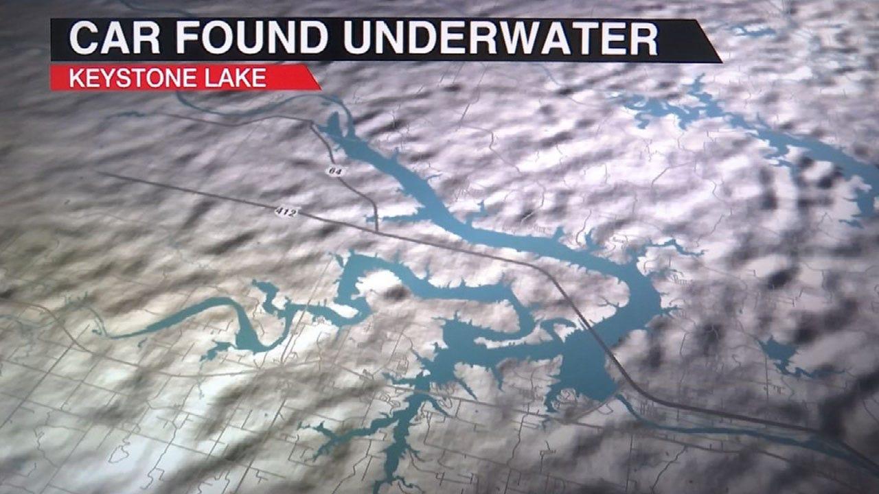 Car Found In Keystone Lake