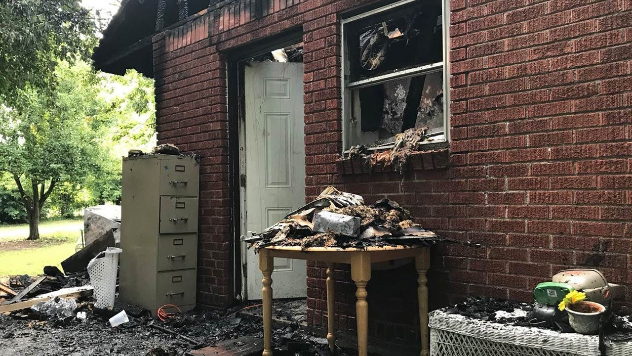 No One Injured When Family's Home Catches On Fire