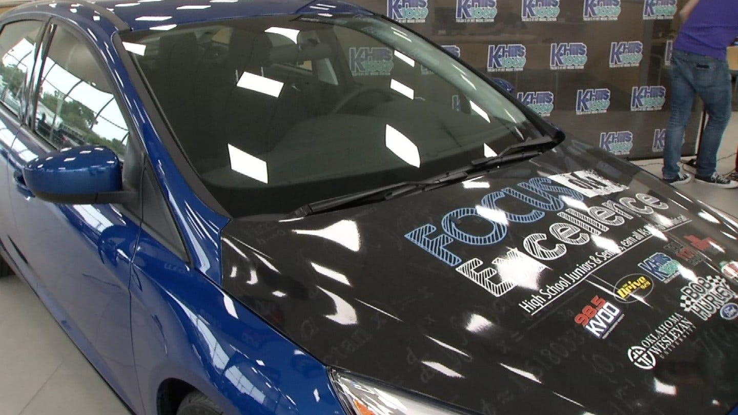 High School Student Wins New Car For Academic Excellence