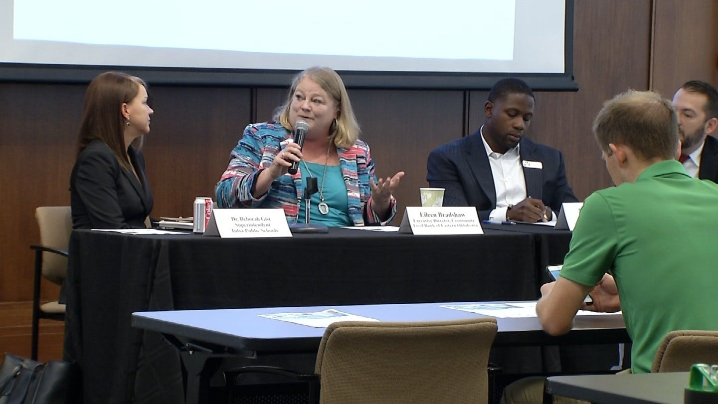 Tulsa Chamber Holds Forum To Discuss Hunger, Access To Food