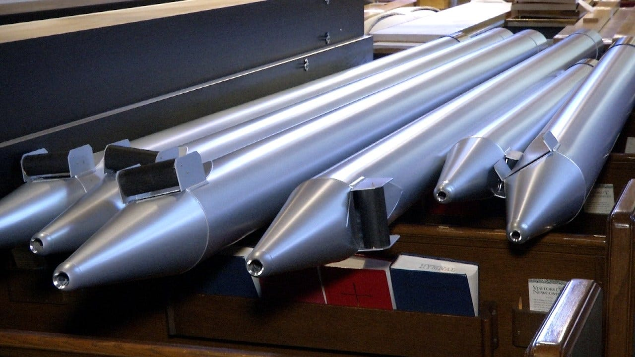 Tulsa Church Installs Custom Pipe Organ