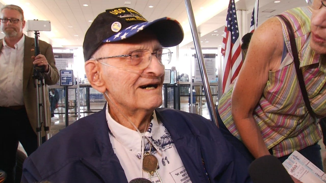 U.S.S. Arizona Survivor Moving From Oklahoma To California