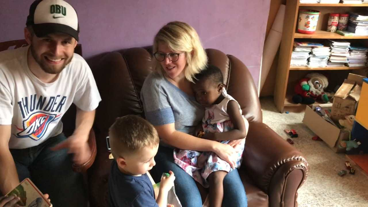 Muskogee Couple One Of First U.S. Families To Adopt Nigerian Child