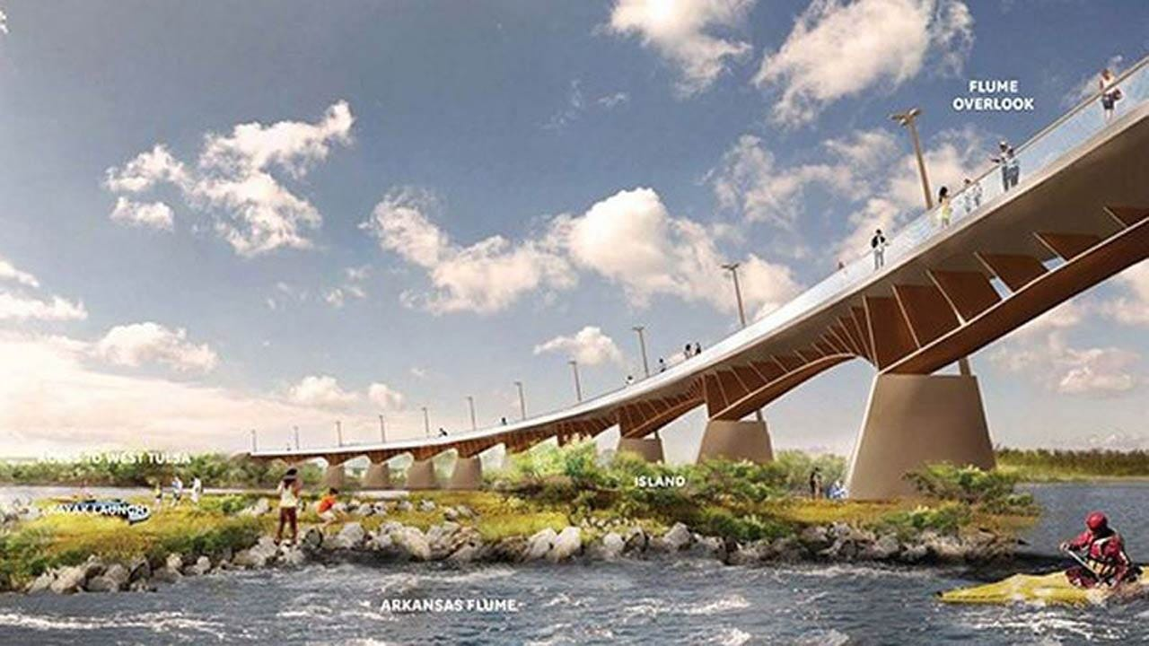 Partnership Formed To Build 'The Gateway' Pedestrian Bridge In Tulsa
