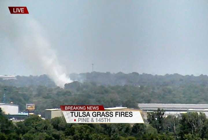 Tulsa And Catoosa Fire Crews Responding To Multiple Grass Fires
