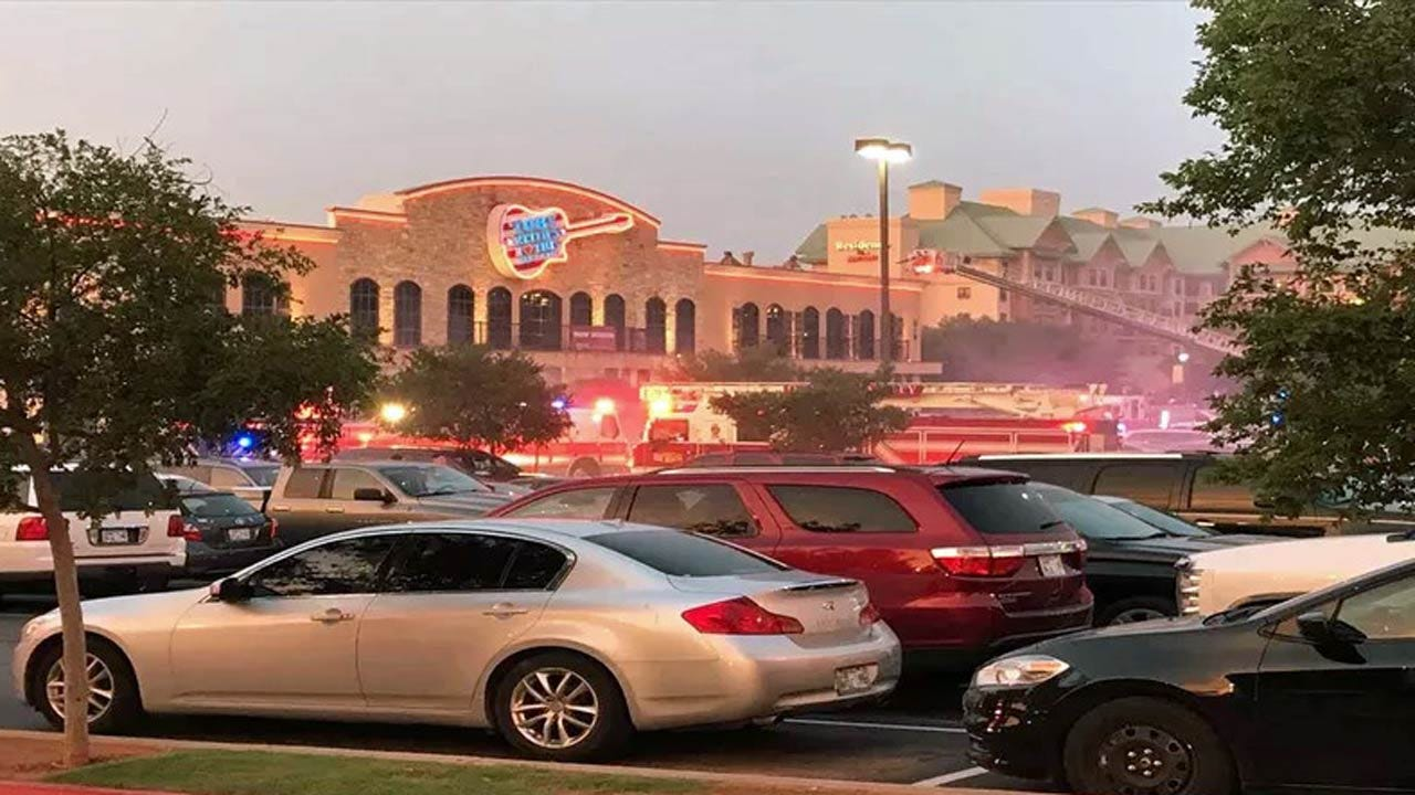 Grease Fire At Toby Keith's OKC Restaurant