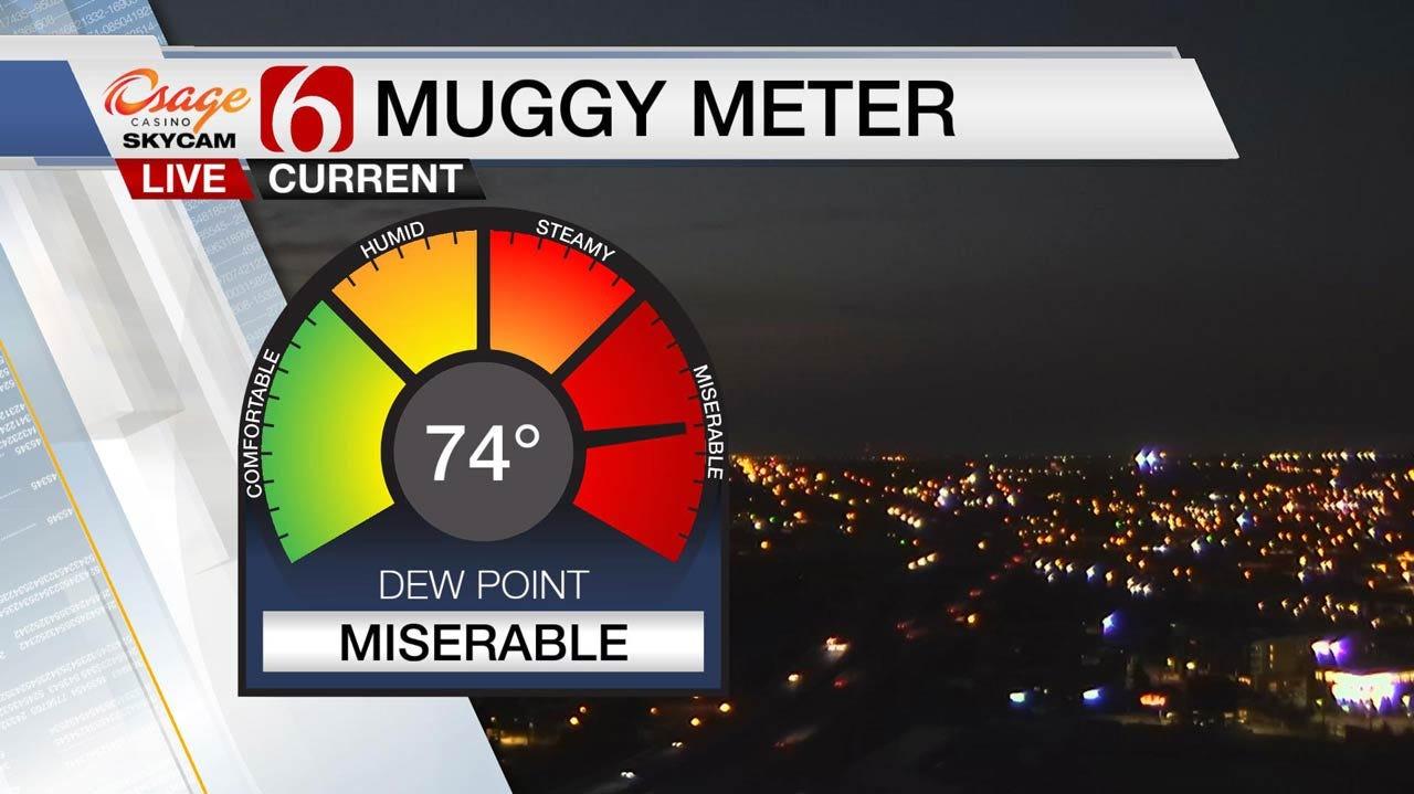 Hot Muggy Monday Across Eastern Oklahoma