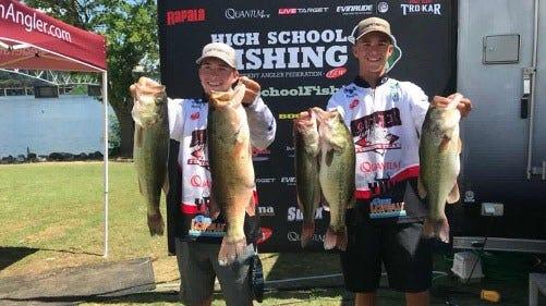 Kiefer High School Seniors Win High School World Fishing Championship