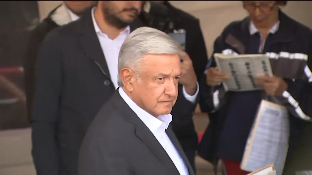 Trump Congratulates Mexico's Lopez Obrador On Presidential Win