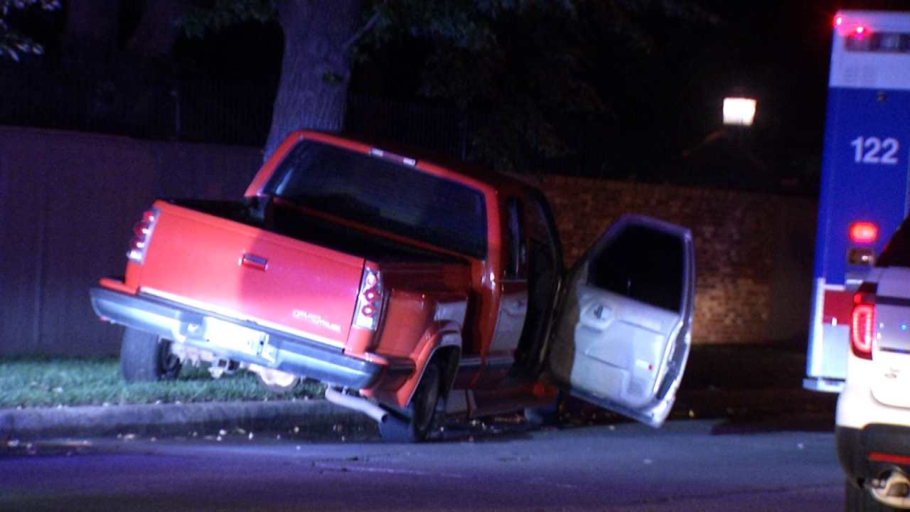 Deputies Recover Stolen Pickup Following Tulsa Chase