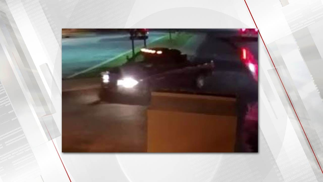 Tulsa Police Search For Truck That Ran Over Sleeping Person