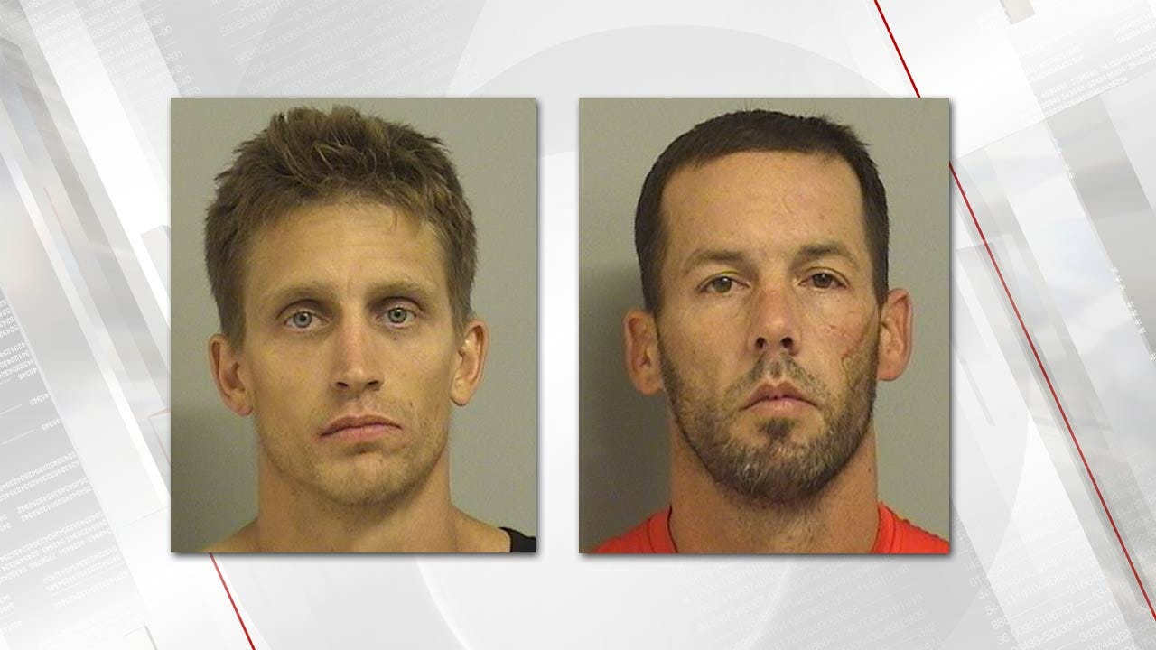 Two Men Arrested Following Robbery, Stabbing At Tulsa Motel