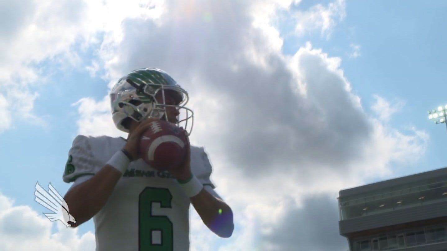 Former Locust Grove QB Mason Fine On Becoming A Leader For North Texas