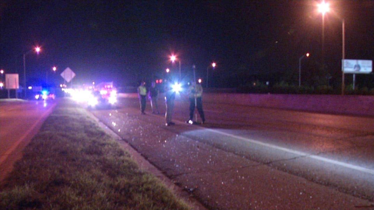 Woman Struck By Semi After Motorcycle Wreck On I-44
