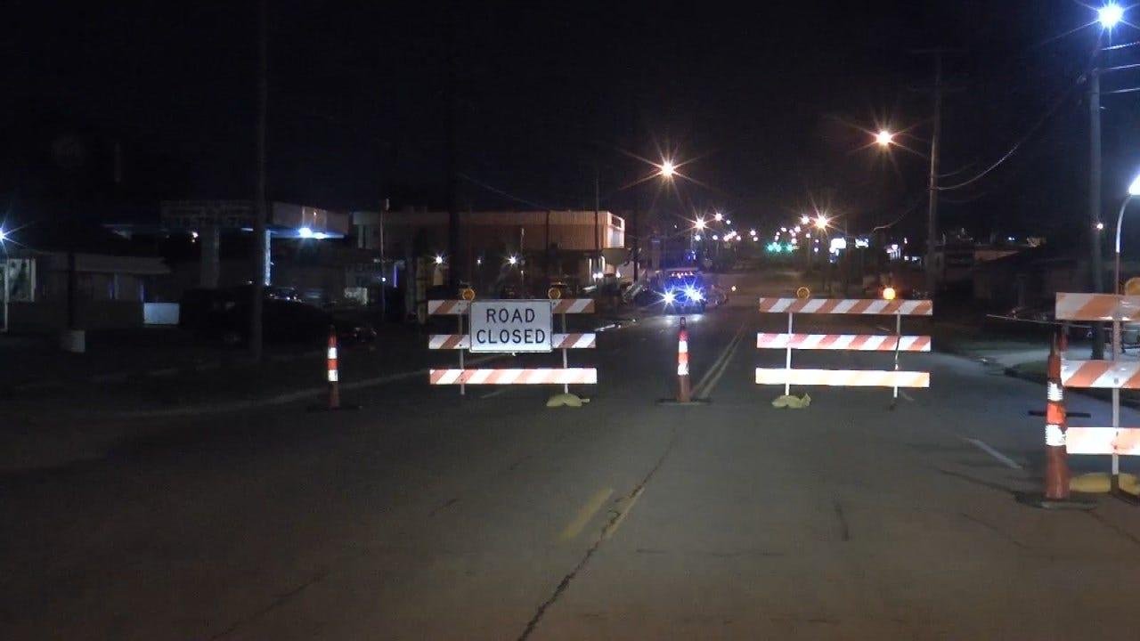 Broken Water Main Closes Sheridan Road