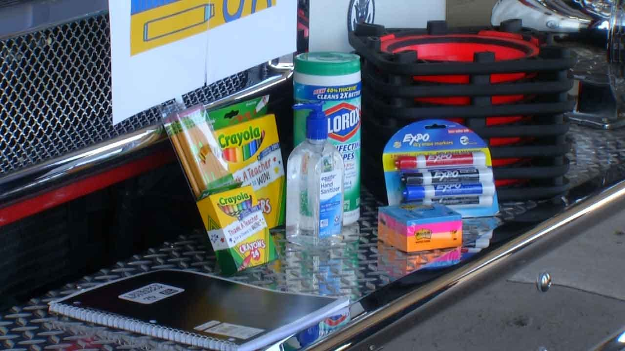 City Collecting School Supplies For Tulsa Students